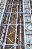 Κατασκευή γεφυρών Στοκ εικόνες με δικαίωμα ελεύθερης χρήσης