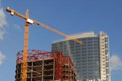 κατασκευή εμπορικών κέντ&rh Στοκ Φωτογραφίες