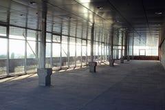 Κατασκευή ενός εμπορικού κέντρου Στοκ εικόνες με δικαίωμα ελεύθερης χρήσης