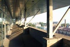 Κατασκευή ενός εμπορικού κέντρου Στοκ Εικόνες