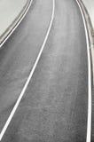 Κατασκευή ενός νέου δρόμου Στοκ Εικόνα