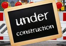 κατασκευή κάτω Στοκ φωτογραφία με δικαίωμα ελεύθερης χρήσης