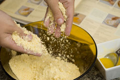 κατασκευή κέικ Στοκ εικόνες με δικαίωμα ελεύθερης χρήσης