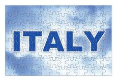 Κατασκευή και αναδημιουργία της Ιταλίας - εικόνα έννοιας jigs στοκ φωτογραφία με δικαίωμα ελεύθερης χρήσης