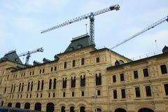 Κατασκευή και ανακαίνιση μιας οικοδόμησης Ghum Στοκ Φωτογραφία
