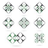 Κατασκευή και επισκευή λογότυπων Στοκ Εικόνες