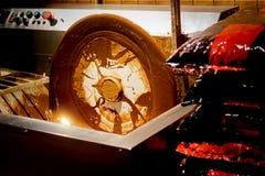 Κατασκευή και παραγωγή της σοκολάτας Στοκ εικόνες με δικαίωμα ελεύθερης χρήσης