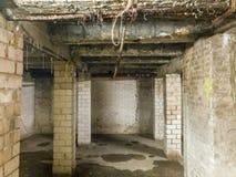 κατασκευή κελαριών κάτω Στοκ Φωτογραφίες