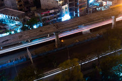 Κατασκευή μετρό σε Noida Στοκ εικόνα με δικαίωμα ελεύθερης χρήσης
