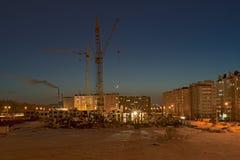Κατασκευή μιας νέας γειτονιάς Στοκ Φωτογραφίες