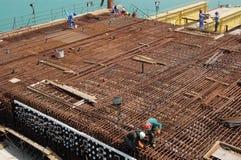 κατασκευή Ντουμπάι Στοκ Εικόνα