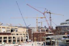 κατασκευή Ντουμπάι Στοκ Φωτογραφία