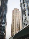 Κατασκευή ουρανοξυστών στο Ντουμπάι, Ε.Α.Ε. Στοκ φωτογραφίες με δικαίωμα ελεύθερης χρήσης