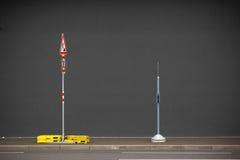 Κατασκευή προσοχής Στοκ φωτογραφία με δικαίωμα ελεύθερης χρήσης