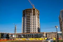Κατασκευή πόλη Angarsk Στοκ εικόνα με δικαίωμα ελεύθερης χρήσης