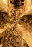 Κατασκευή στεγών φιαγμένη από πέτρες σε Angkor Wat, Καμπότζη Στοκ φωτογραφία με δικαίωμα ελεύθερης χρήσης