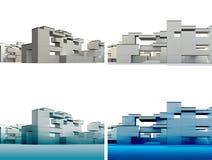 Κατασκευή στο λευκό Στοκ φωτογραφίες με δικαίωμα ελεύθερης χρήσης