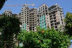 Κατασκευή στο Mangalore Στοκ Εικόνες