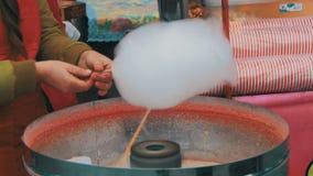 Κατασκευή της καραμέλας βαμβακιού φιλμ μικρού μήκους