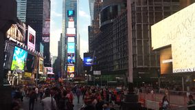 Κατασκευή της Times Square Στοκ εικόνα με δικαίωμα ελεύθερης χρήσης