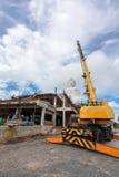 Κατασκευή του μεγάλου Βούδα Phuket Ταϊλάνδη Στοκ Εικόνες