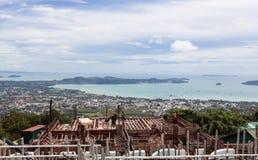 Κατασκευή του μεγάλου Βούδα Phuket Ταϊλάνδη Στοκ Φωτογραφία