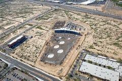 Κατασκευή του τοπ γκολφ σε Scottsdale Στοκ εικόνες με δικαίωμα ελεύθερης χρήσης