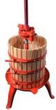 κατασκευή του χειρωνακτικού κρασιού Τύπου Στοκ φωτογραφία με δικαίωμα ελεύθερης χρήσης