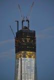 Κατασκευή του World Trade Center Στοκ Φωτογραφίες