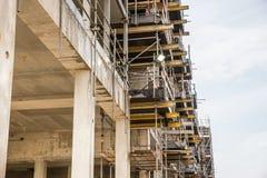 κατασκευή τούβλων που βάζει υπαίθρια την περιοχή Στοκ Εικόνες