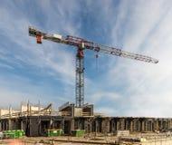 κατασκευή τούβλων που βάζει υπαίθρια την περιοχή Στοκ Φωτογραφία