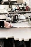 Κατασκευή των κιβωτίων στο μεταφορέα Στοκ εικόνες με δικαίωμα ελεύθερης χρήσης