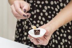 Κατασκευή των σοκολατών Στοκ Εικόνες