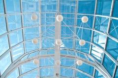 κατασκευή 2 γυαλί/μέταλλο Στοκ εικόνες με δικαίωμα ελεύθερης χρήσης