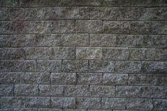 Κατασκευασμένη εγχώρια υλική έννοια τοίχων τσιμεντένιων ογκόλιθων Στοκ Φωτογραφία