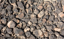 Κατασκευασμένη επιφάνεια των βράχων ερήμων Στοκ Εικόνες