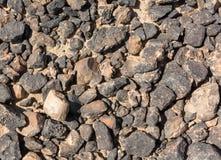 Κατασκευασμένη επιφάνεια των βράχων ερήμων Στοκ Φωτογραφίες