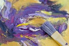 Κατασκευασμένη ζωγραφική Στοκ Εικόνα