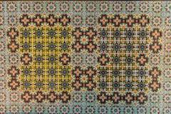Κατασκευασμένη διακόσμηση τουβλότοιχος Στοκ Εικόνες