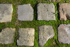Κατασκευασμένη πέτρα Στοκ εικόνα με δικαίωμα ελεύθερης χρήσης