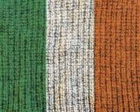 Κατασκευασμένη σημαία μαλλιού - Ιρλανδία Στοκ Φωτογραφία