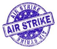 Κατασκευασμένη σφραγίδα γραμματοσήμων ΑΠΕΡΓΊΑΣ AIR Grunge απεικόνιση αποθεμάτων