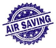 Κατασκευασμένη σφραγίδα γραμματοσήμων ΑΠΟΤΑΜΊΕΥΣΗΣ AIR Grunge ελεύθερη απεικόνιση δικαιώματος