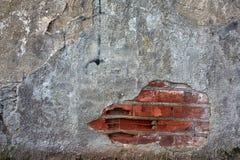 Κατασκευασμένη τέχνη τοίχων υποβάθρου με τα τούβλα Στοκ Εικόνες