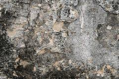 Κατασκευασμένοι τοίχοι με το ρύπο Στοκ Φωτογραφία