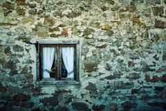 Κατασκευασμένος αγροτικός τοίχος πετρών υποβάθρου Στοκ Εικόνα
