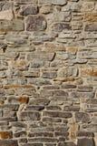 Κατασκευασμένος αγροτικός τοίχος πετρών υποβάθρου Στοκ εικόνες με δικαίωμα ελεύθερης χρήσης