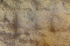 Κατασκευασμένος βράχος ασβεστόλιθων με την επιφάνεια κυμάτων διάβρωσης Στοκ εικόνα με δικαίωμα ελεύθερης χρήσης