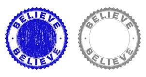 Κατασκευασμένος ΘΕΩΡΗΣΤΕ τις σφραγίδες γραμματοσήμων Grunge ελεύθερη απεικόνιση δικαιώματος