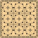 κατασκευασμένος παραδοσιακός διανυσματικός τρύγος προτύπων Στοκ φωτογραφία με δικαίωμα ελεύθερης χρήσης